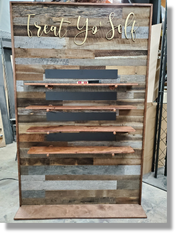 Uniquely DC - DC Scenic fabrication and rental of dessert walls